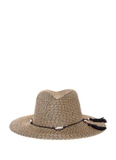 Mavi Şapka Bej